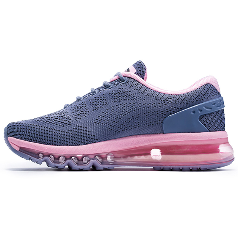 2018 Air Running Shoes for Women Unique Shoe Tongue Athletic Trainers Black Red Mens Breathable Sports