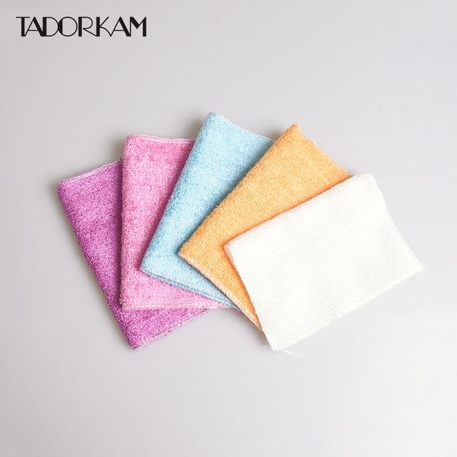 5 stks/set poetsdoeken magic anti vet drogen handdoeken wassen