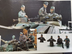 Image 1 - 1/35 Resin Figure Model Kit Unassambled Unpainted 00772
