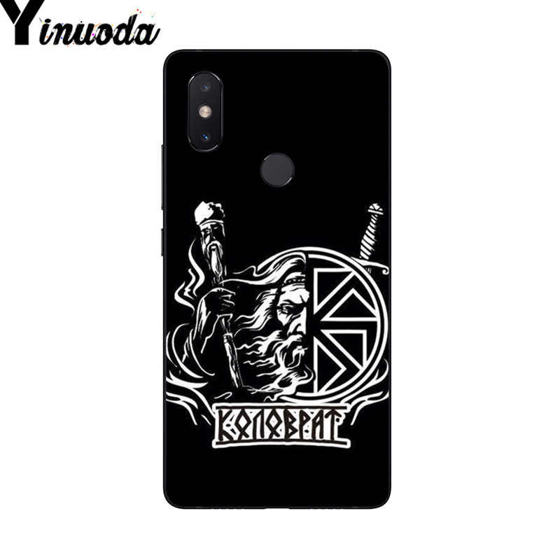 Yinuoda eslava símbolo vikingo Kolovrat Coque teléfono caso para Xiaomi mi 6 mi x2 mi x2S Note3 8 8SE Redmi 5 5 Plus Note4 4X Note5