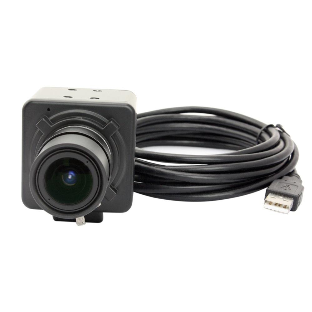 5MP /1080P/720P/480P resolution Optional 2.8-12mm Manual zoom Varifocal Lens Aptina MI5100 High speed Mini CCTV USB Camera цены
