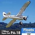 FMS RC Flugzeug 1700MM 1,7 M PA-18 J3 Piper Super Cub 4S 5CH (Schwimmt optional) PNP Trainer Anfänger Modell Flugzeug Flugzeug PA18 J-3