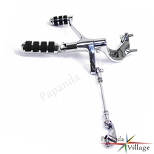 Chrome Motorcycle Forward Controls Complete Kit Pegs Levers Linkage For Harley Sportster SuperLow Roadster XL 1200 Iron 883 chrome motorcycle forward controls complete kit pegs levers linkage for harley sportster superlow roadster xl 1200 iron 883