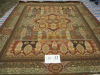 Exportar los Estados Unidos solo SUMAC Mike Do lana alfombra tejida a mano las aduanas extranjeras sm-51/2.58*3.5 M