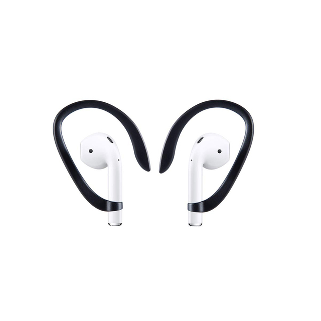 Luxury Anti lost earpods hook for Airpods holder headphone case silicon sport ear hook air pods protection earbuds accessory