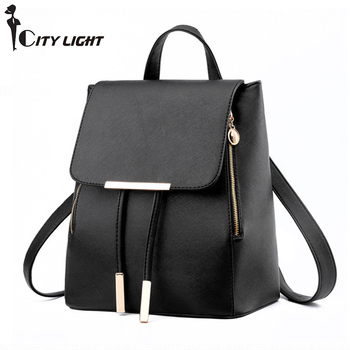 New Women Backpack  Laptop Travel Bag Fashion School Bags for Teenagers and Girls Hand Backpack Leisure High Quality
