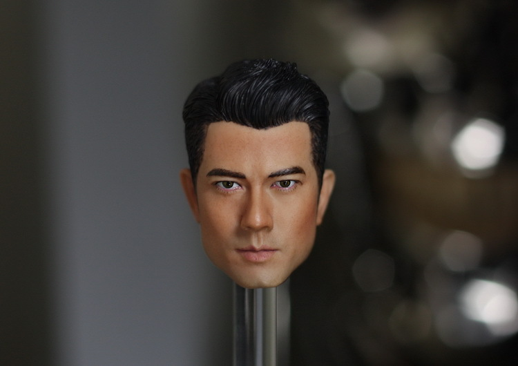 1/6 scale figure doll head shape for 12 action figure doll accessories Four major Kings of Hong Kong Aaron Kwok Head carved 1 6 scale figure head shape for 12 action figure doll rise of the planet of the apes caesar doll head for figure accessories