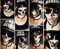 Крутой 3D напечатаны череп маска игрушка, Весело дикие рот - рот-муфельные, Роман подарок для друзей мода любителей аниме ну вечеринку ношение 2015 новые девушки парни