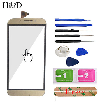 цена на 5.5inch Touch Screen Glass For UMI ROME UMI ROME X Touch Screen Touch Digitizer Panel Front Glass Tools Adhesive