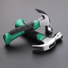 Portable mini shockproof claw hammer car multi-function hammer escape hammer Anti-skid plastic claw hammer household hand tools