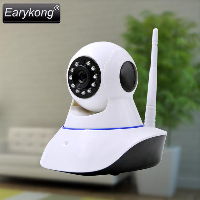 2.4G Wi-fi Câmera de Alarme de Alarme de Rede. compatível com 433 MHz sem fio detector. compatível G90B WIfi GSM Sistema de Alarme.