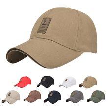 Venta al por mayor Snapback gorra de béisbol sombreros para hombres de  algodón Casual gorras ajustadas cinturón ajustable Soild . 36355aac035
