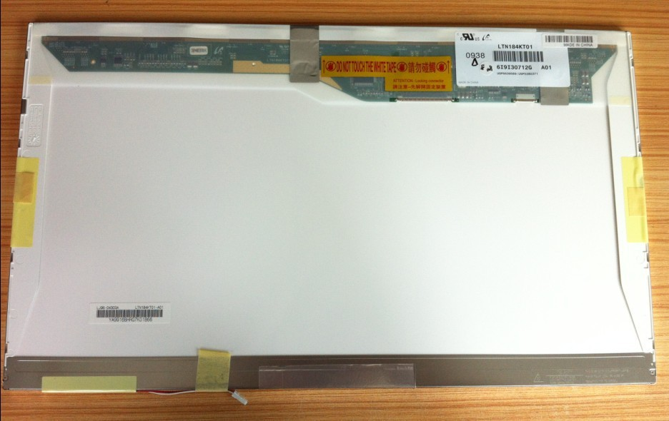 ФОТО QuYing Laptop LCD Screen Compatible Model LTN184KT01-A01 LTN184KT01-101 LTN184KT01-M01 LTN184KT01-T01 LTN184KT02-T01