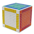 Shengshou White 11x11x11 Magic Puzzle Cube 11cm Square Speed Cube Blocks 11x11 Magico Neo Cubo Adult Educational Toys Gift