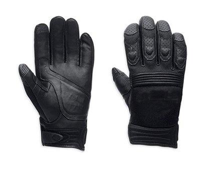 Knight Gloves Racing Windbreak riding leather gloves 98252 Skull Touchscreen Tech Gloves
