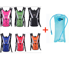 2015 Outdoor Sporting Hydration Pack Hiking Climbing RuckSack Cycling Bicycle Pack with 2L Water bag Free