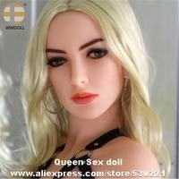 Одежда высшего качества wmdoll головка для реального силиконовые секс куклы TPE любовь Куклы головок реалистичные устные сексуальные продукты