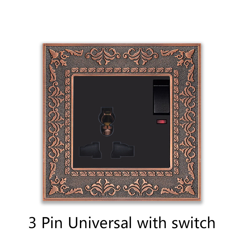 3 Pin Universal with switch