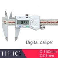 3 v 스테인레스 스틸 전자 디지털 고정밀 0.01mm 버니어 캘리퍼스 미코 미터 150mm 200mm 300mm 디지털 측정 도구|레벨 측정기|도구 -