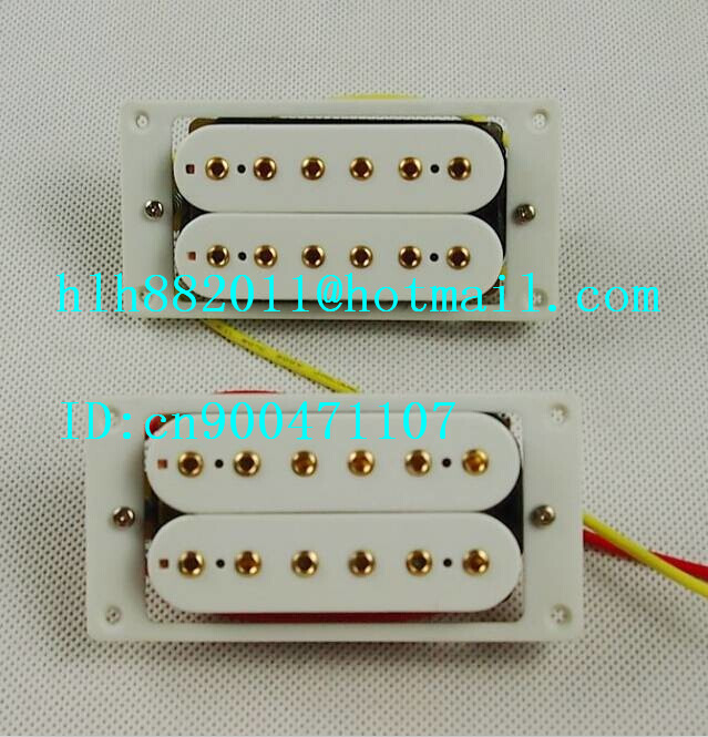 free shipping new electric  guitar opened  pickup in chrome made in South Korea  HY-8176 free shipping new lp electric guitar pickup in gold made in south korea wk 05