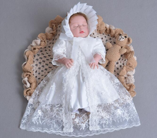 DOLLMAI new Bebe Reborn Dolls With White princess dress all Silicone Girl Body Newborn Babies Dolls Toys For Girl Children giftDOLLMAI new Bebe Reborn Dolls With White princess dress all Silicone Girl Body Newborn Babies Dolls Toys For Girl Children gift