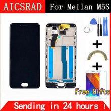 Лучшие Aicsrad для Meizu m5s ЖК-дисплей Дисплей + Сенсорный экран + Инструменты замены дигитайзер Ассамблеи для meilan 5S телефон