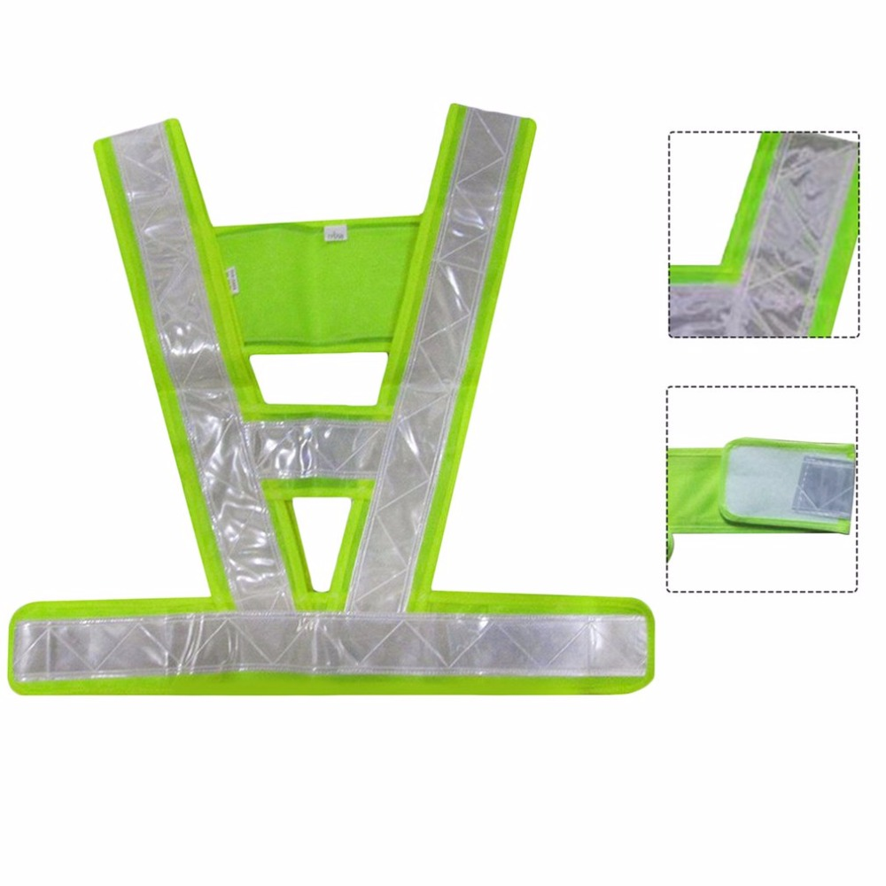 Waistcoat reflective V-Shaped reflective safety vest for Traffic light-reflecting overalls high visibilityWaistcoat reflective V-Shaped reflective safety vest for Traffic light-reflecting overalls high visibility