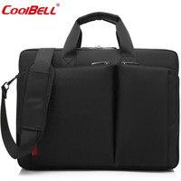 Cool Bell Anti Theft Handbag Waterproof 15 6 Inches Laptop Bag Business Men Travel Handbags Fashionable