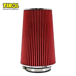 """TIROL T21775a Universal Cold Air Intake/High Flow Air Filters 3""""Dual Funnel AdapterFor 76-89-101mm Round Tapered Free Shipping"""
