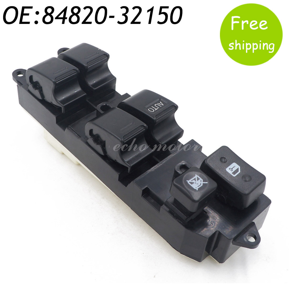 New 84820-32150 For 1989-1995 Toyota Camry Land Cruiser Power Window Master Control Switch 84820-33060,8482033060,8482032150