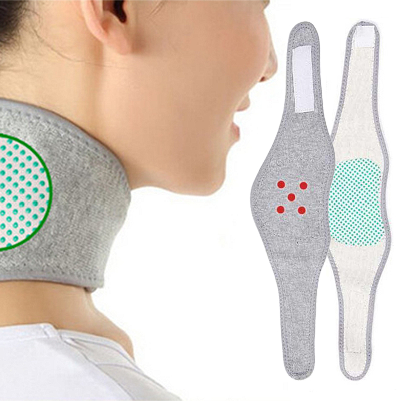 Neck Protection Corrector Unisex Adult Breathable Exercise Cervical Heating Pure Cotton Bamboo Charcoal Body Care Tool