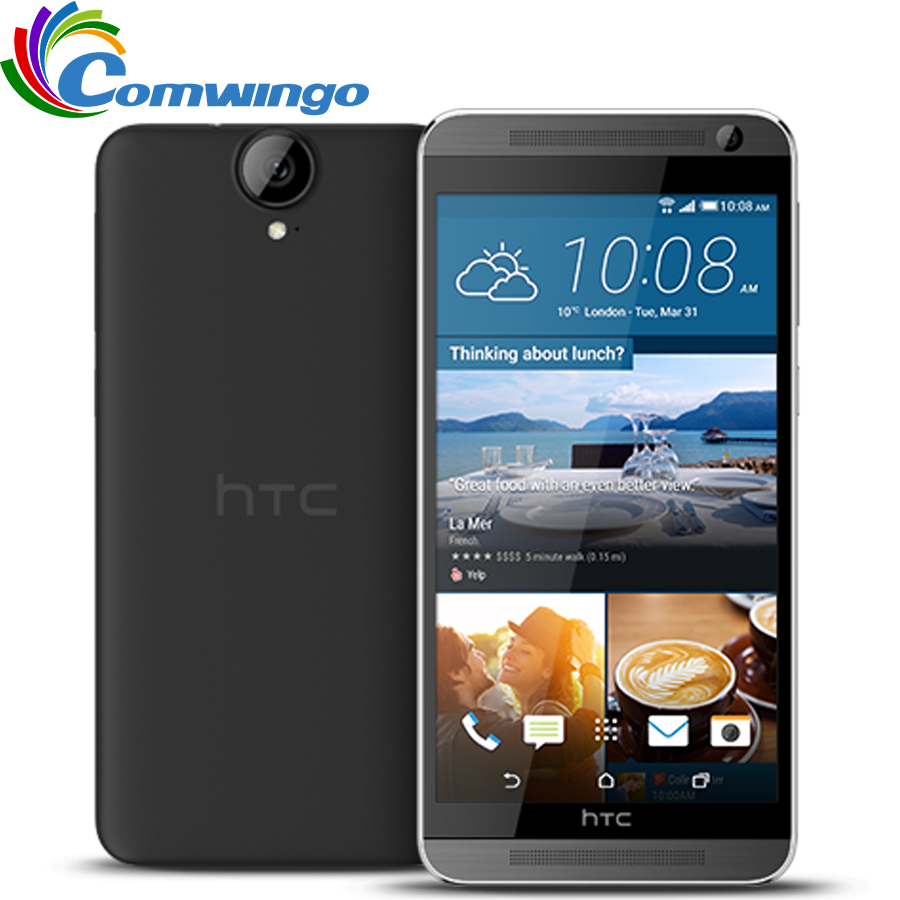 Original Unlocked HTC One E9 Plus E9pw 3GB RAM 32GB ROM 4G LTE Phone 5.5 inch MTK Helio X10 Octa Core 20MP 2800mAh SmartPhone image