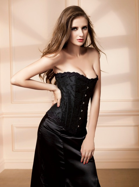 Women Wedding Corset Burlesque Sexy Steampunk Costume Hot Body Slimming Waist Trainer Gothic Bustier Corset Top Erotic Bodices