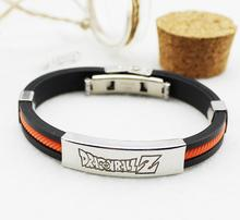 Dragon Ball Z Silicone Roped Bracelet