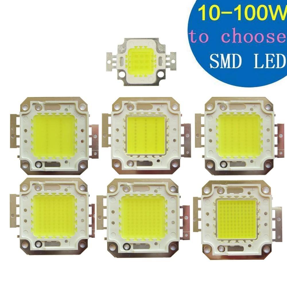 Kupferbasis goldfaden SMD LED 30mil Punktlicht Flutlicht Teil 10 Watt 20 Watt 30 Watt 50 Watt 70 Watt 80 Watt 100 Watt Kühles Weiß 6500 Karat Warmweiß 3500 Karat