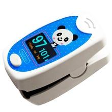Ikakon CE FDA Pediátrica SPO2 Monitor Oximetro de dedo Oxímetro de Pulso de Saturación de Oxígeno para Adultos Bebé Niño con Cuidado