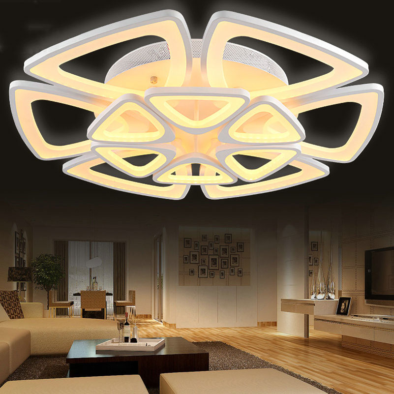Big elegant dimming lampsled ceiling lightscreative flower shape big elegant dimming lampsled ceiling lightscreative flower shape 12 heads 108w living room bedroom foyer led ceiling lamps in ceiling lights from lights mozeypictures Images