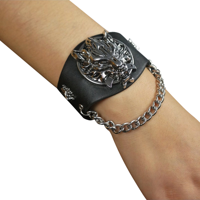 Final Fantasy VII Cloud Wolf Wristband