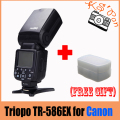 Triopo TR-586EX Wireless Flash Mode TTL Flash Speedlite For Canon EOS 550D 60D 5D Mark II as YONGNUO YN-568EX II