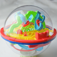 3D100 Steps Magic Intellect Maze Ball 929A Balance Logic Ability 3D Puzzle Game Kids Children Toys