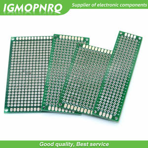 Copper Circuit-Board Cave-Plate Prototype Pcb 4x6 Double-Side 5x7 3x7 2x8cm 4pcs 2--8