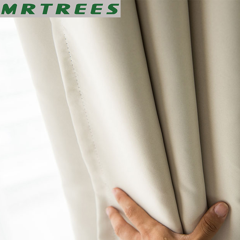 MRTREES Roman Blackout Curtains For Living Room Bedroom