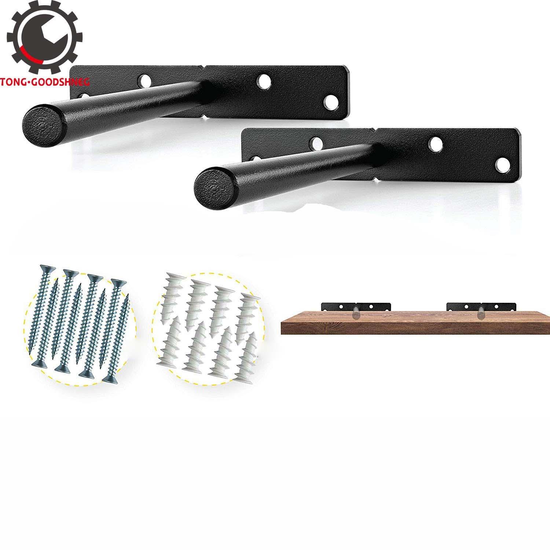 Blind Shelf Supports Heavy Duty Floating Shelf Brackets Black Metal Shelf Brackets Wall Mount Stainless Steel