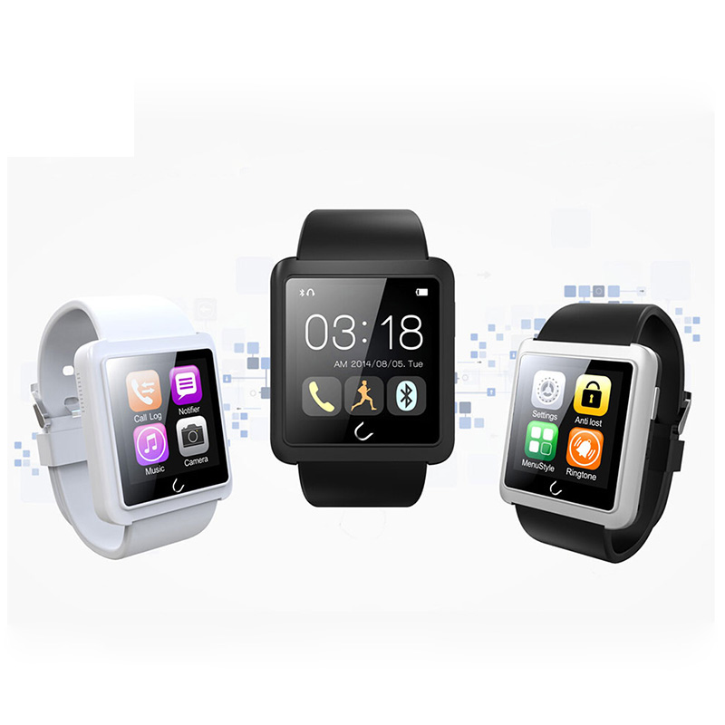 U10L Bluetooth Smart Watch U Smartwatch Sync Phone Call SMS for Samsung HTC IOS Android Smartphones