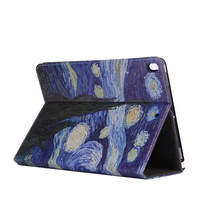Fashion Case For IPad Pro 10 5 PU Leather Hand Belt Painted Folio Stand Smart Cover