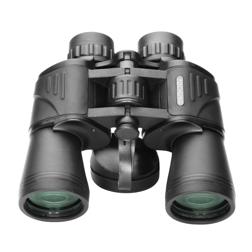 Power 10x50 binoculars tourism sports Large eyepiece waterproof high times Travel Scope telescopes low-light level night vision