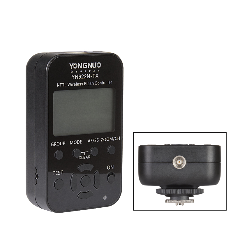 Yongnuo-Wireless-Flash-Trigger-Kit-YN622N-KIT-Transmitter-Controller-YN622N-TX-i-TTL-Transceiver-Receiver-YN622N (2)
