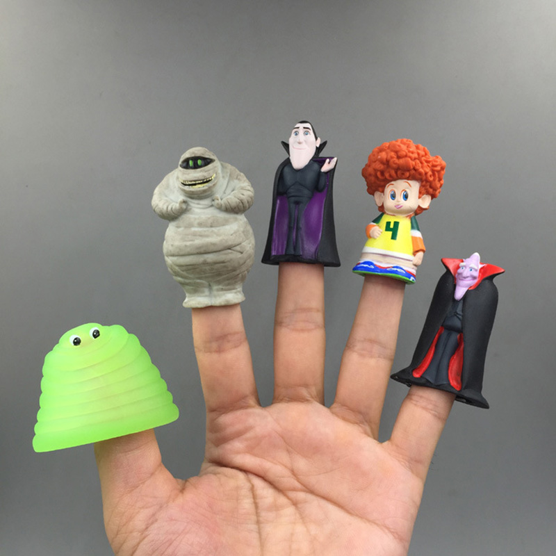 10pcs Hotel Transylvania 3 Action Figure Model Murray Dracula Frank Dennis Screaming Hostel Monster Vampire Mummy Puppet In Toy Figures From