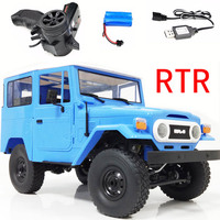RBR/C WPL C34 RTR FJ40 four wheel drive climbing off road remote control car DIY upgrade modified model toy