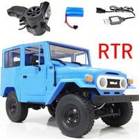 RBR/C WPL C34 RTR FJ40 четыре колеса восхождение внедорожник на дистанционном управлении, автомобиль DIY обновления модифицированная модель игрушка